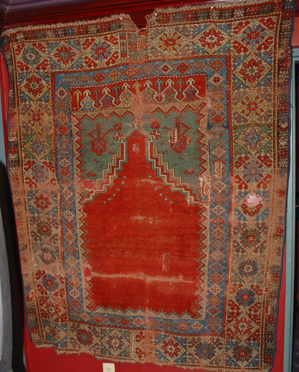 Mujur carpet early 19th century, Central Anatolia
