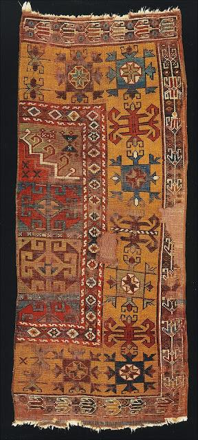 Antique Ladik/ Inlice Turkmen carpet Konya, Central Anatolia, early 19th century