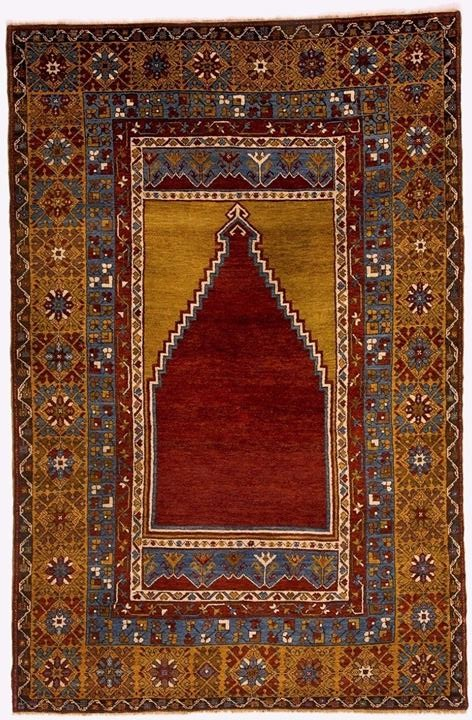 Zile Yahyalı carpet from Kayseri 19th century, Central Turkey