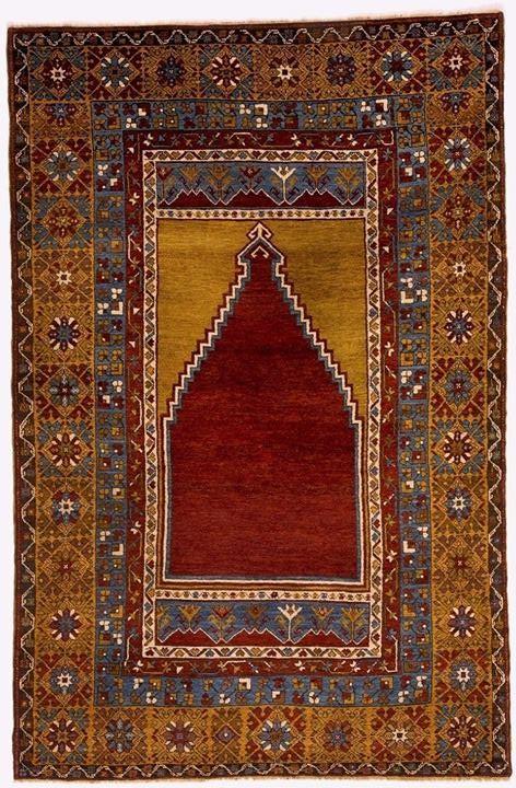 Zile Yahyalı carpet from Kayseri 19th century, Central Turkey