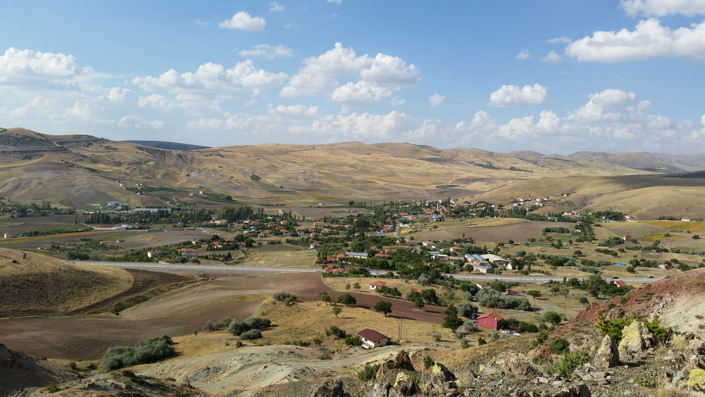 A typical central Anatolian village