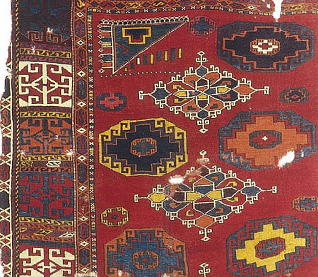 15th century Western Anatolian carpet