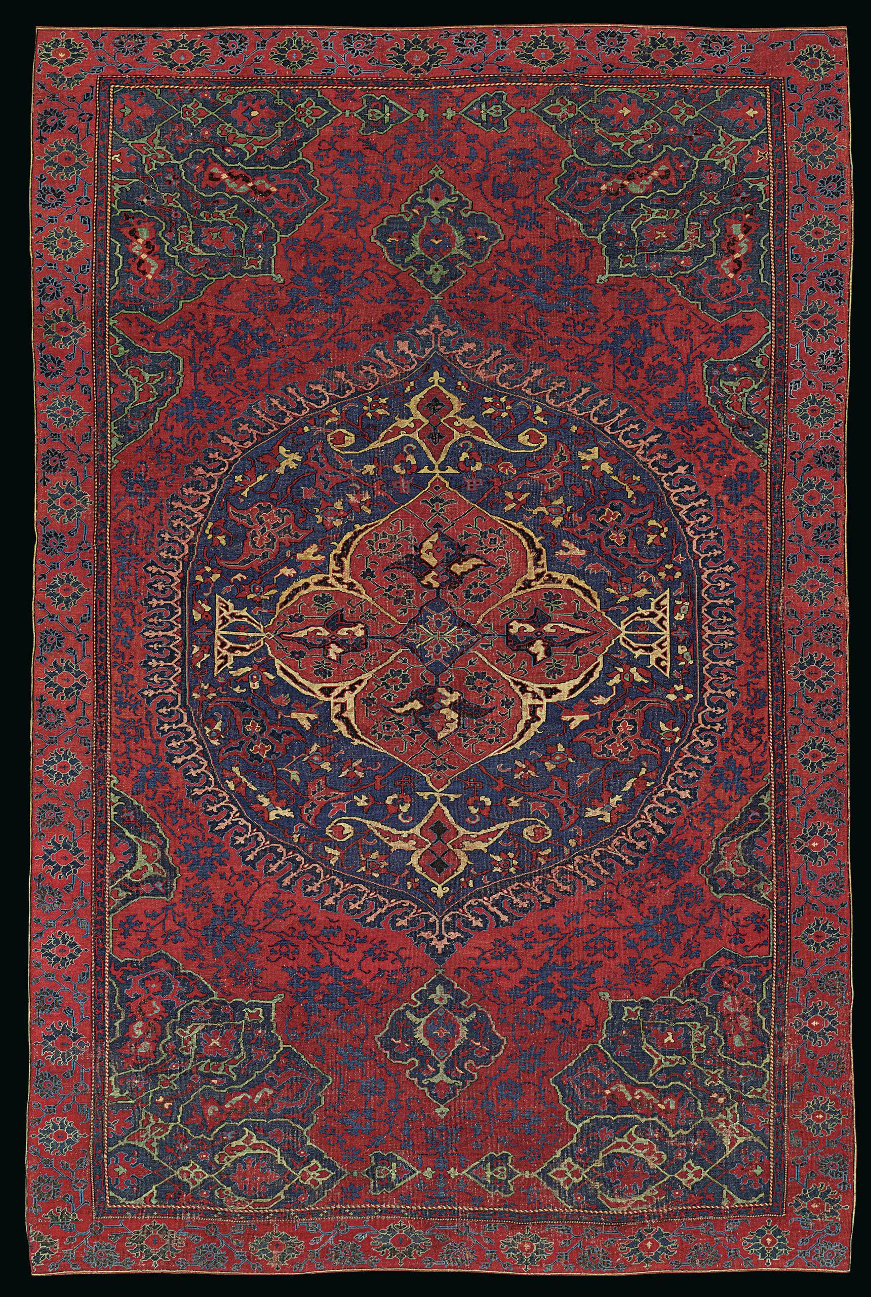 Ushak classical medellion carpet,  16th century