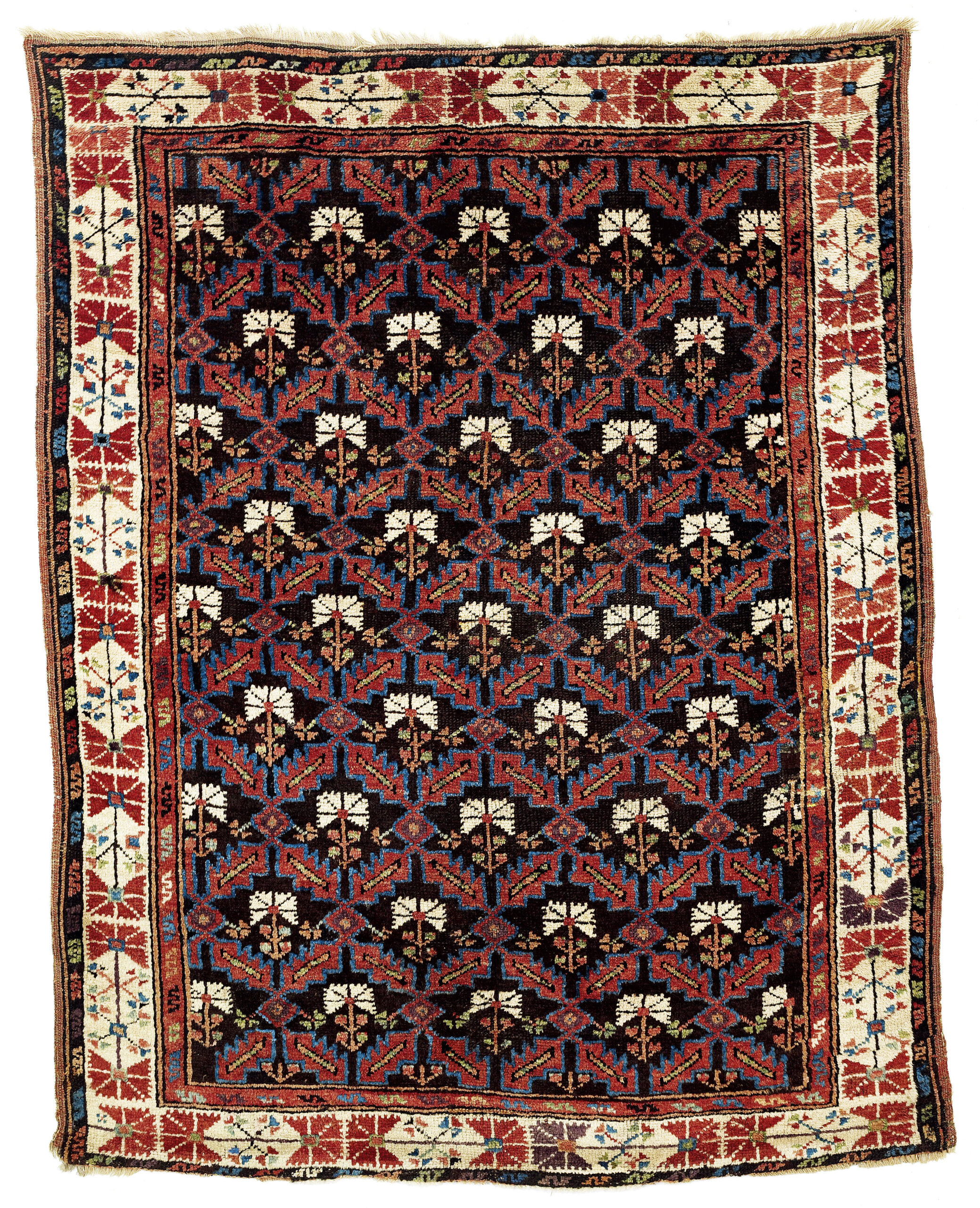 19th century Taşkale carpet from Karaman, Central Anatolia
