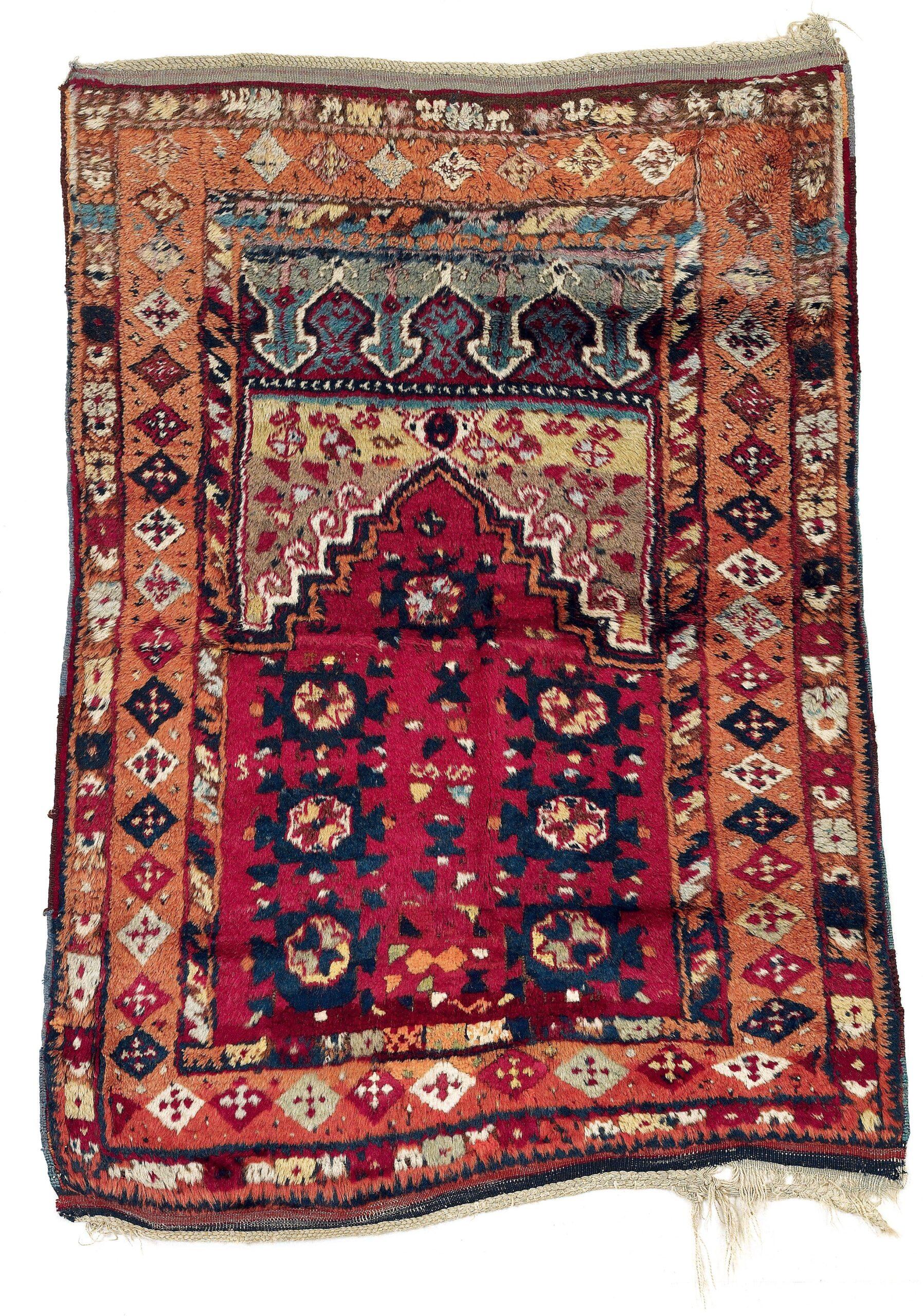 Eastern Anatolian prayer rug, mid-19th century