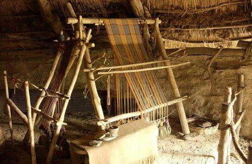 Iron age loom