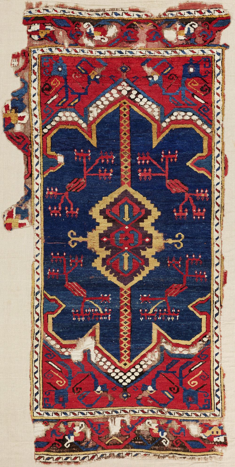 16th-17th century Central Anatolian carpet