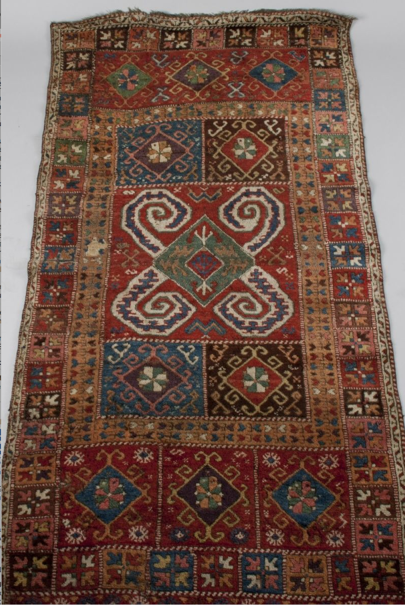 Antique Kağızman carpet, 19th century, Eastern Turkey