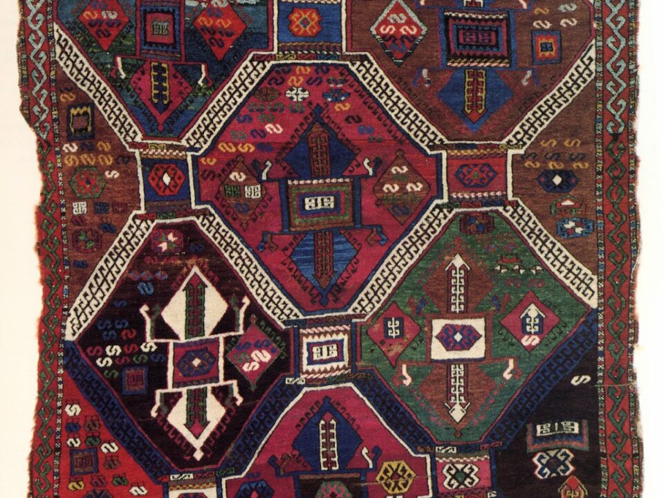 Trbal carpet belonging to Reshwan Kurds, 19th century, Eastern Anatolia