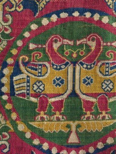 Sasanian Textile, 7th Century