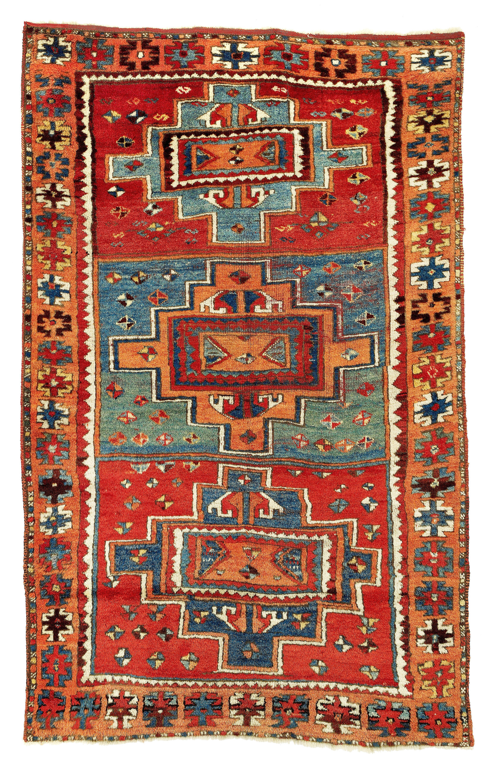 Antique East Anatolian carpet, Sarkisla, Sivas, mid-19th century