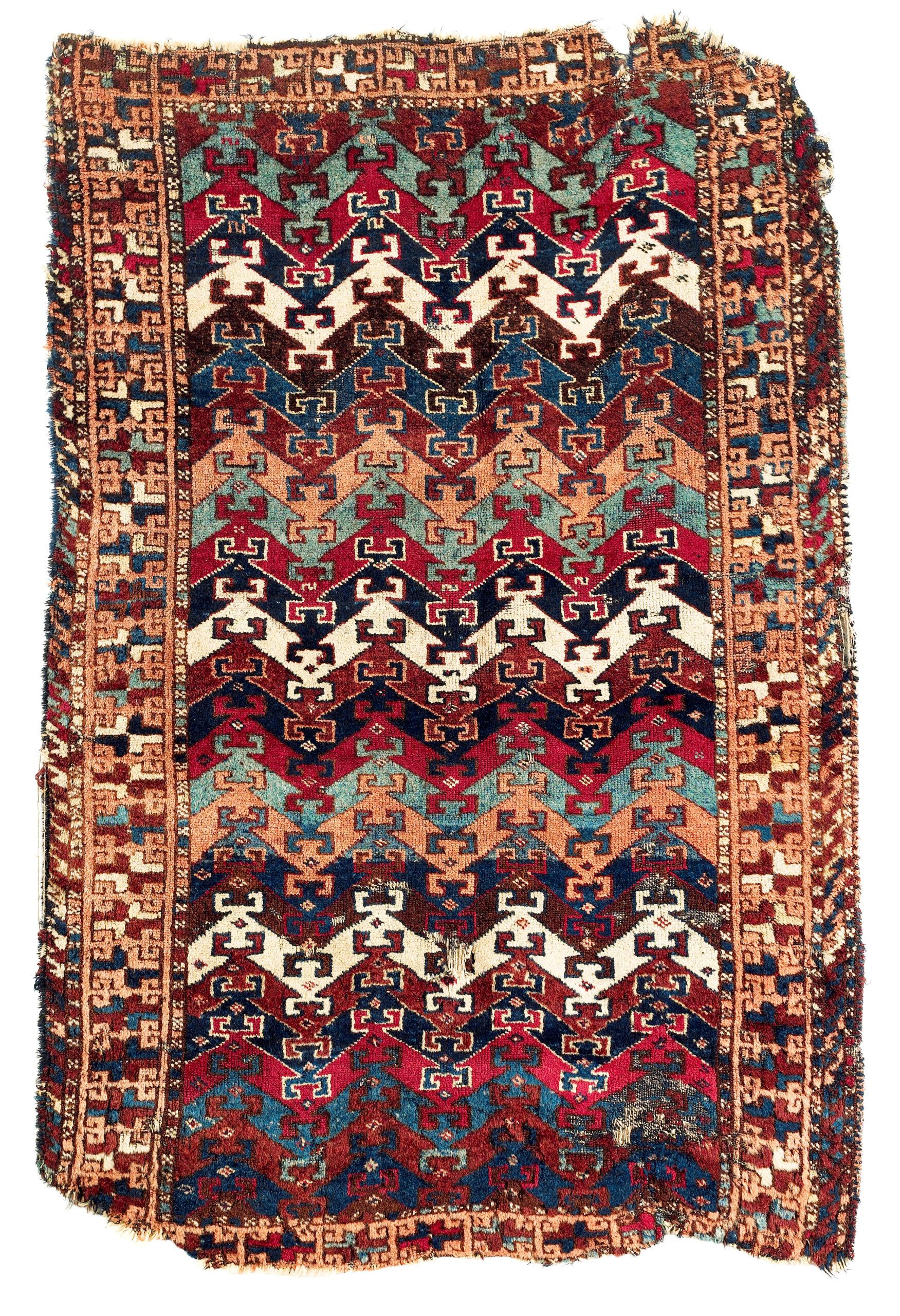 Trbal carpet belonging to Reshwan Kurds, 19th century, Eastern Anatolia
