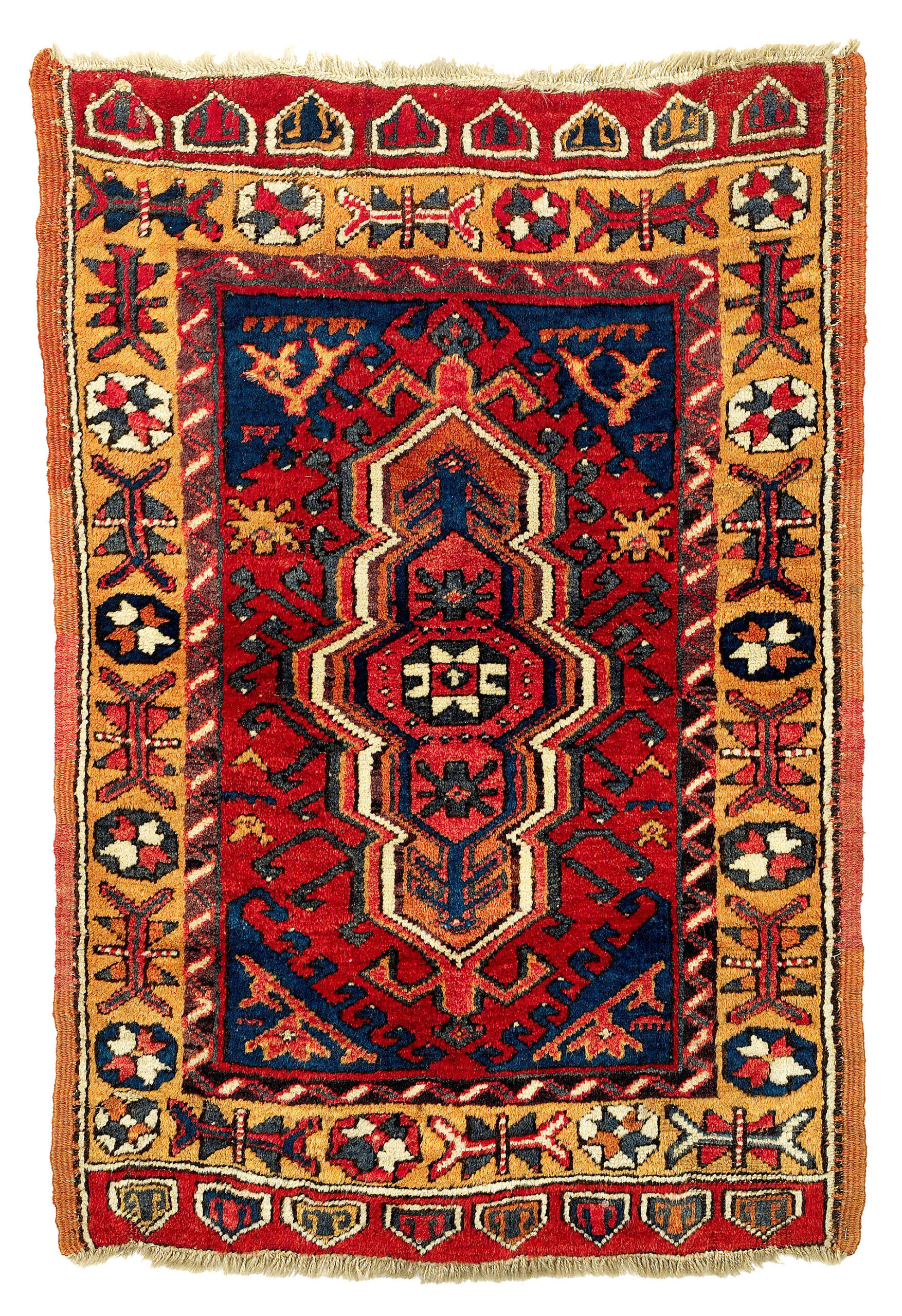 Konya yastik, Crnteal Turkey, 19th century