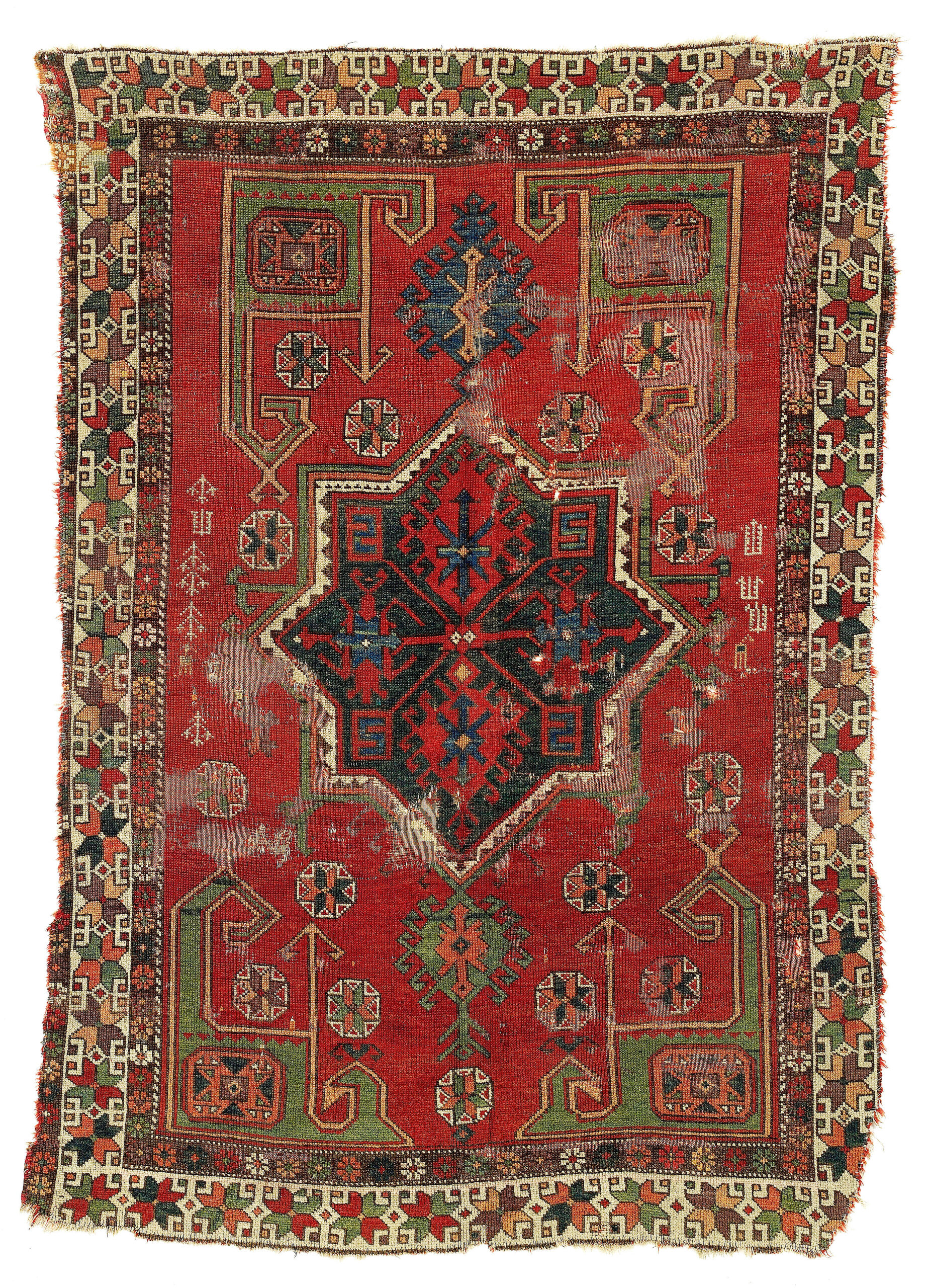 17th-18th entury carpet from Konya, Central Anatolia