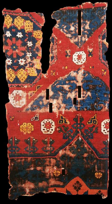15th century Western Anatolian workshop carpet