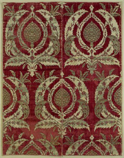 Bursa Çatma Velvet 16th Century Ottoman Era