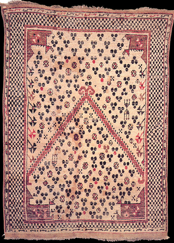 A rural interpretation of Selendi workshop carpets in the same area at 16th century