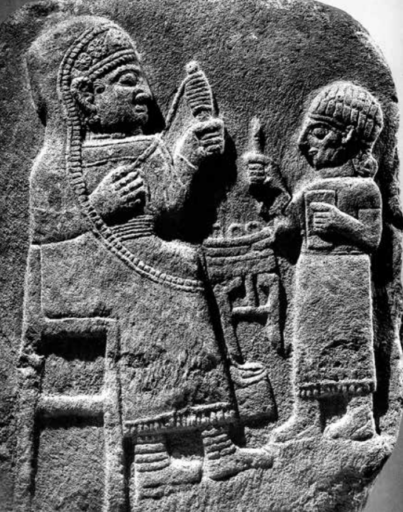 Hittite empress spinning, Irona age, TUrkey