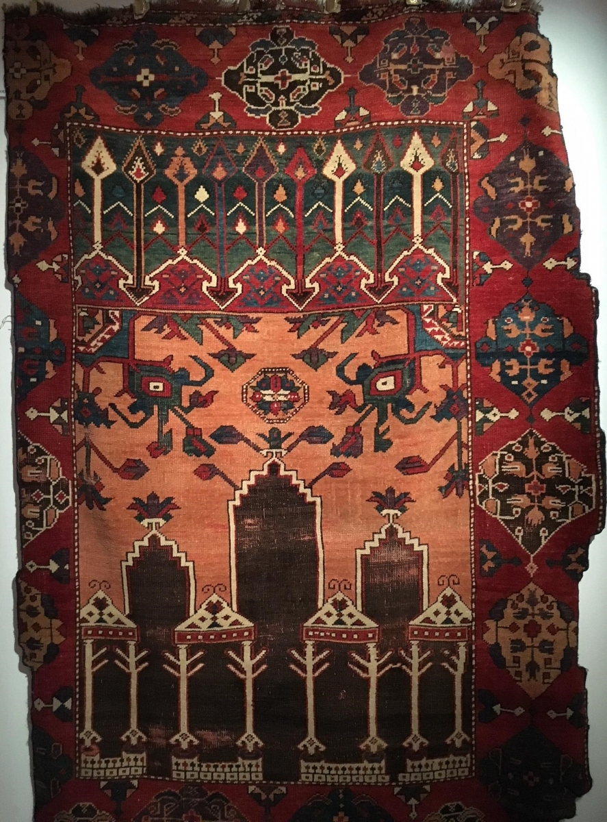 Early Karapınar carpet, Cental Anatolia, 17th century
