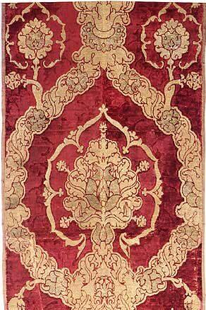 Venice Velvet, highly similar to Bursa Çatma Velvet Style, 16th century
