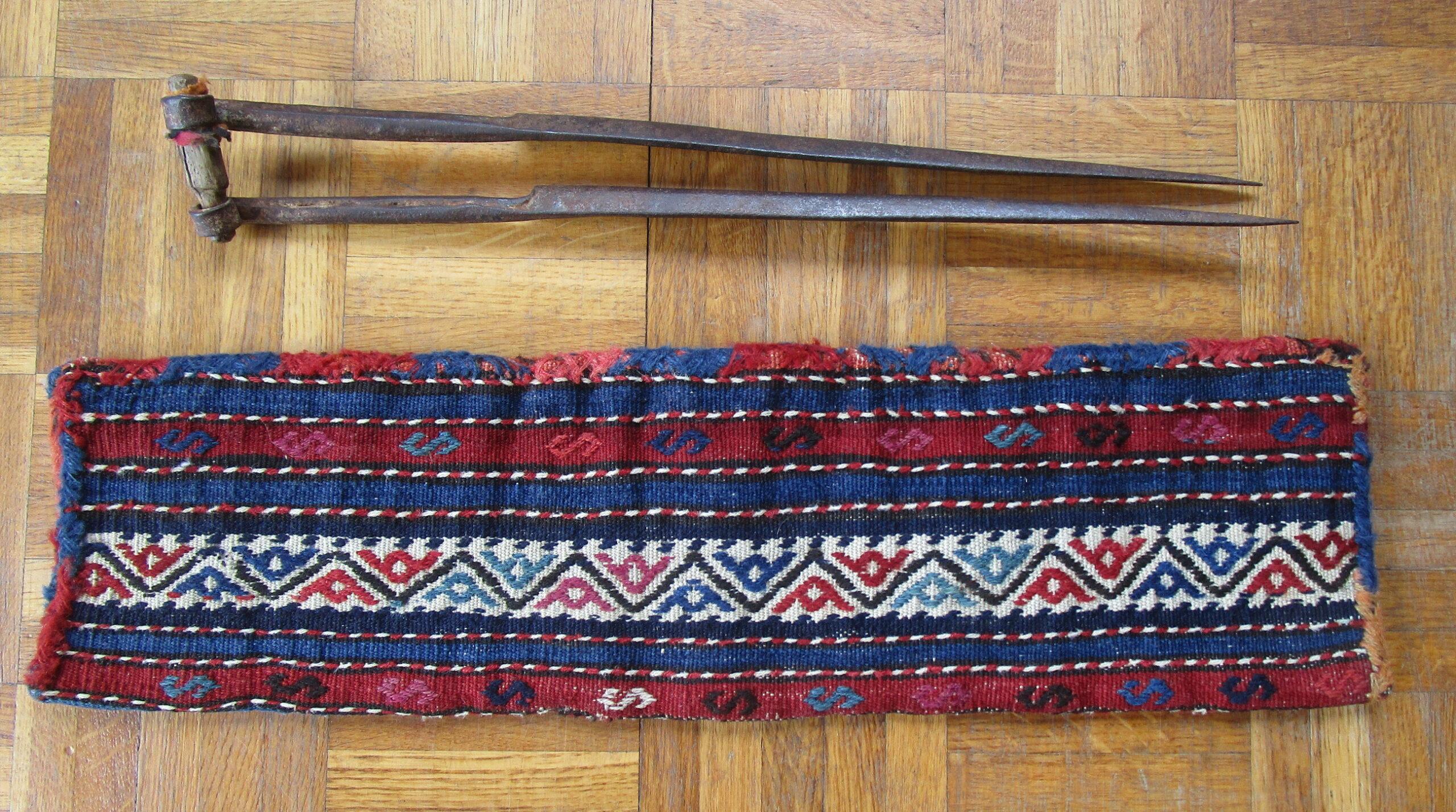 Shears bag 19th Century Shahsavan Tribe