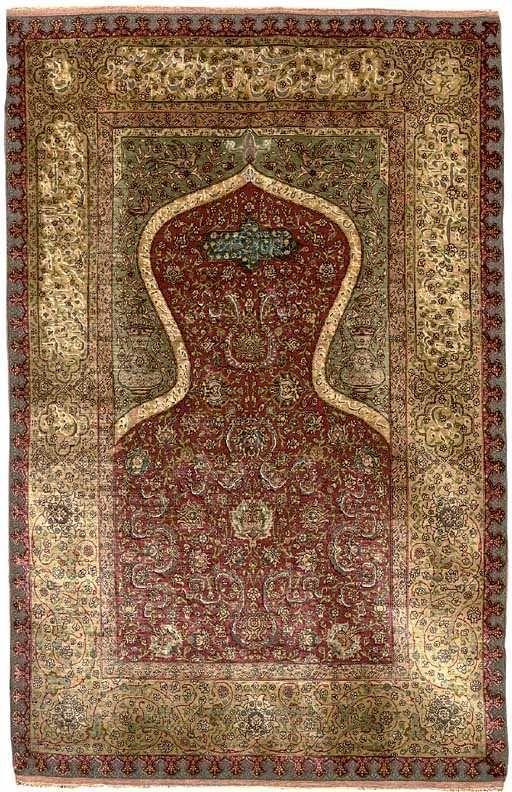 Kumkapı Carpet, early 20th century, Istanbul