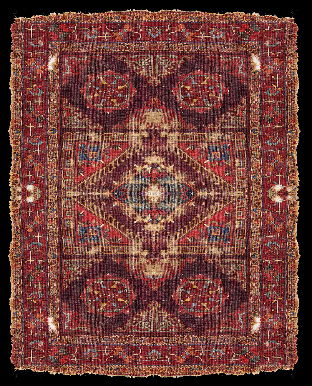 Early Central Anatolian Carpet ,17th century