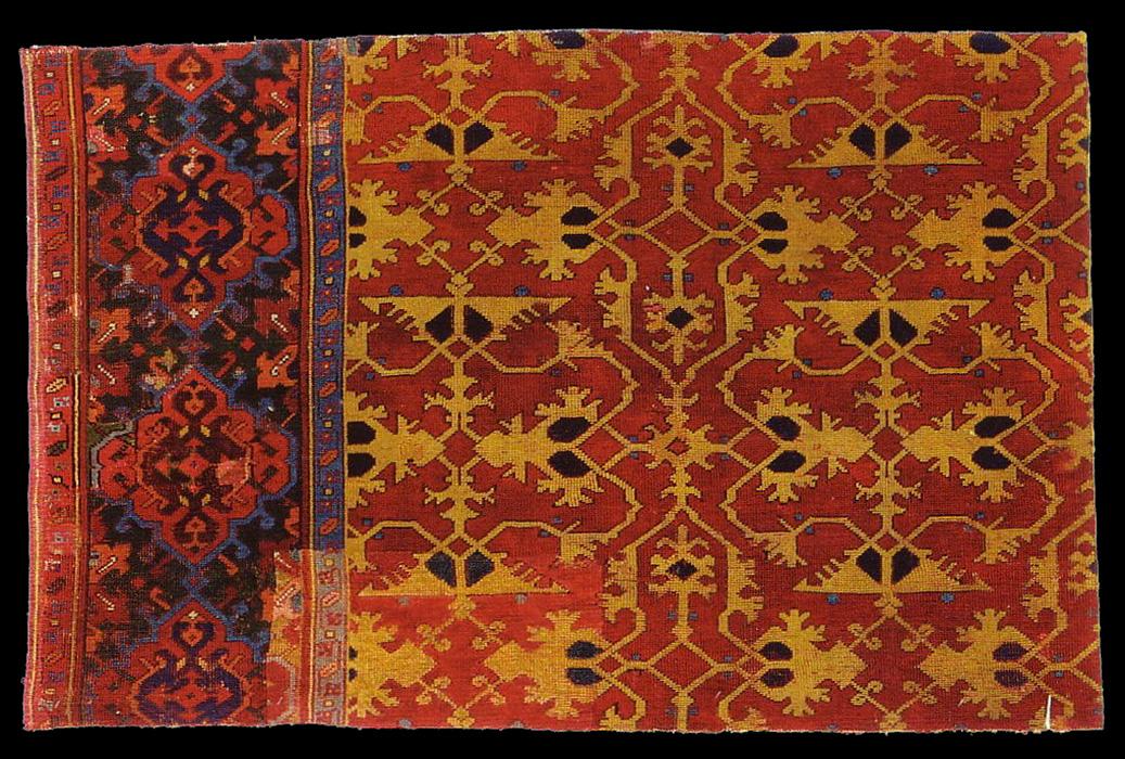 Lotto type carpet, Ottoman era,  18th century Western Turkey