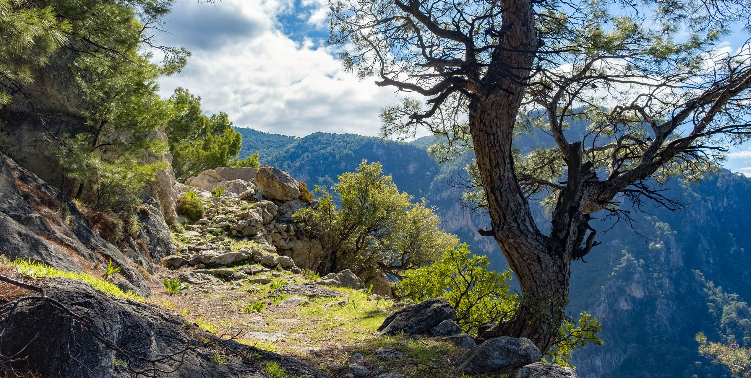 The Lycian Way, discovered in early 90s by Kate Clow