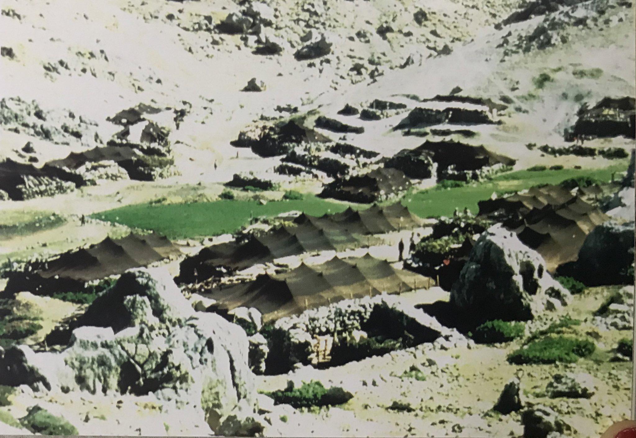 Engizek Mountains, pasture of Atmali Kurdish Tribe, Kahramanmarash, Eastern Turkey, 1984, photo courtesy Josephine Powell, Suna Kıraç Foundation