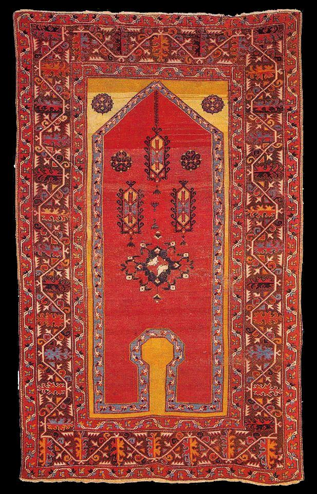 Bellini Carpet, 16th century, Western Anatolia