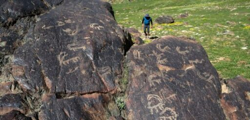 Petroglyphes, Tirsin Plateau Van-Turkey