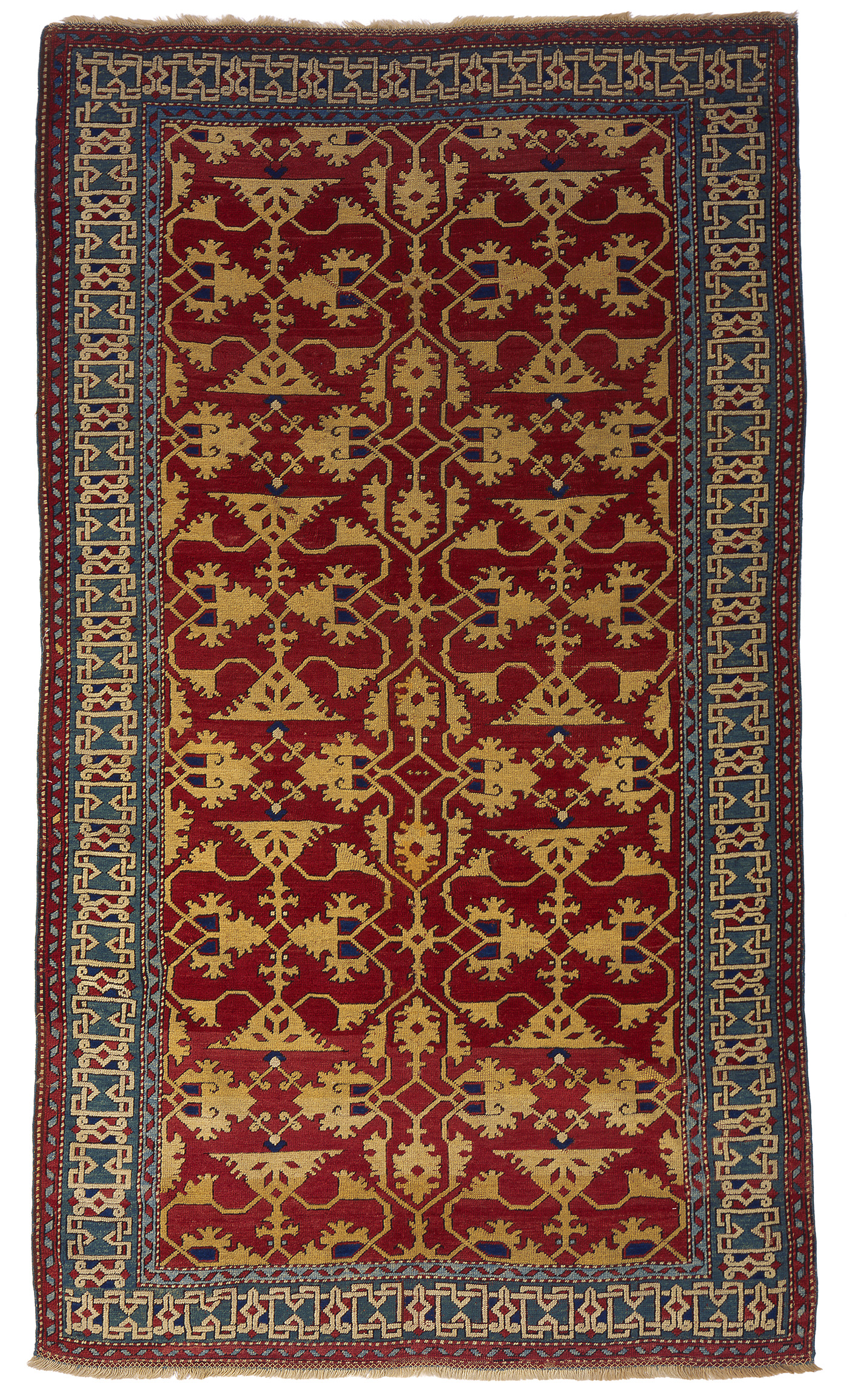 Lotto type of Ushak carpet, designed and woven in workshops of Western Anatolia, 16th century