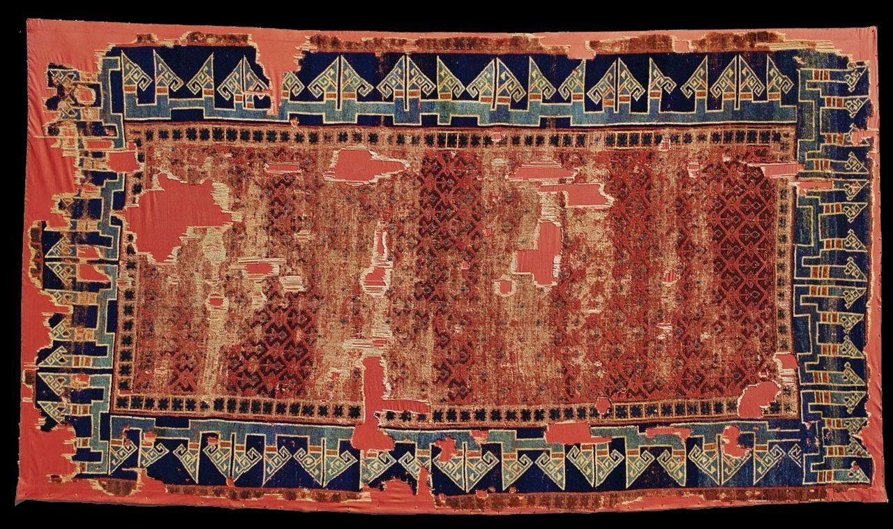 Seljuk carpet, 14th century, Turkish and Islamic Arts Museum