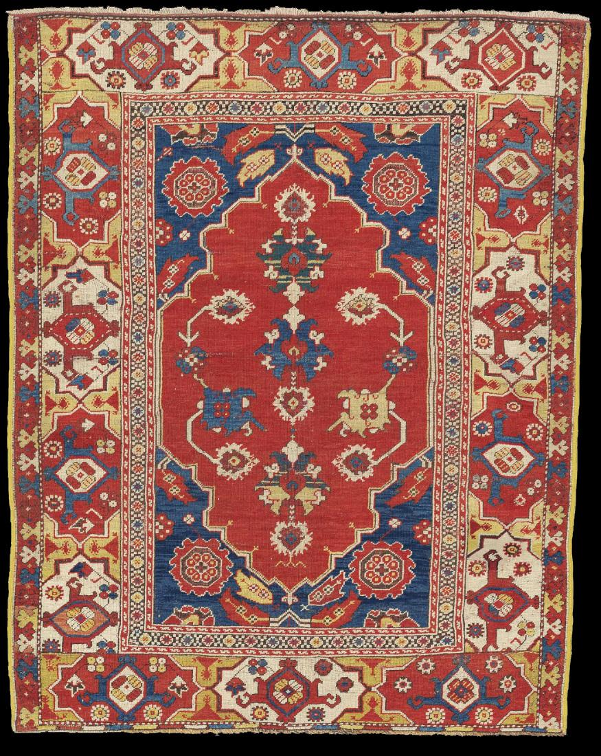 Transylvanian type of Western Anatolian workshop carpet, 17th century