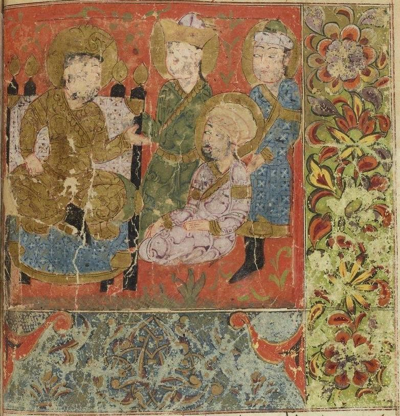 Turkmens of Anatolia depicted in Isandar-Nameh, the book of Alexander the Great's life written in 1416