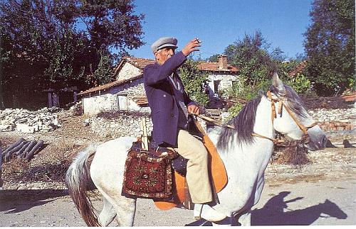 The usage of heybe in the horseback, Western Turkey, 1980s