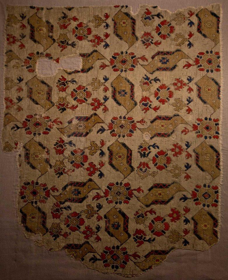 "So called ""bird Usha"" patterned carpet, 16th century, Vakiflar Museum"